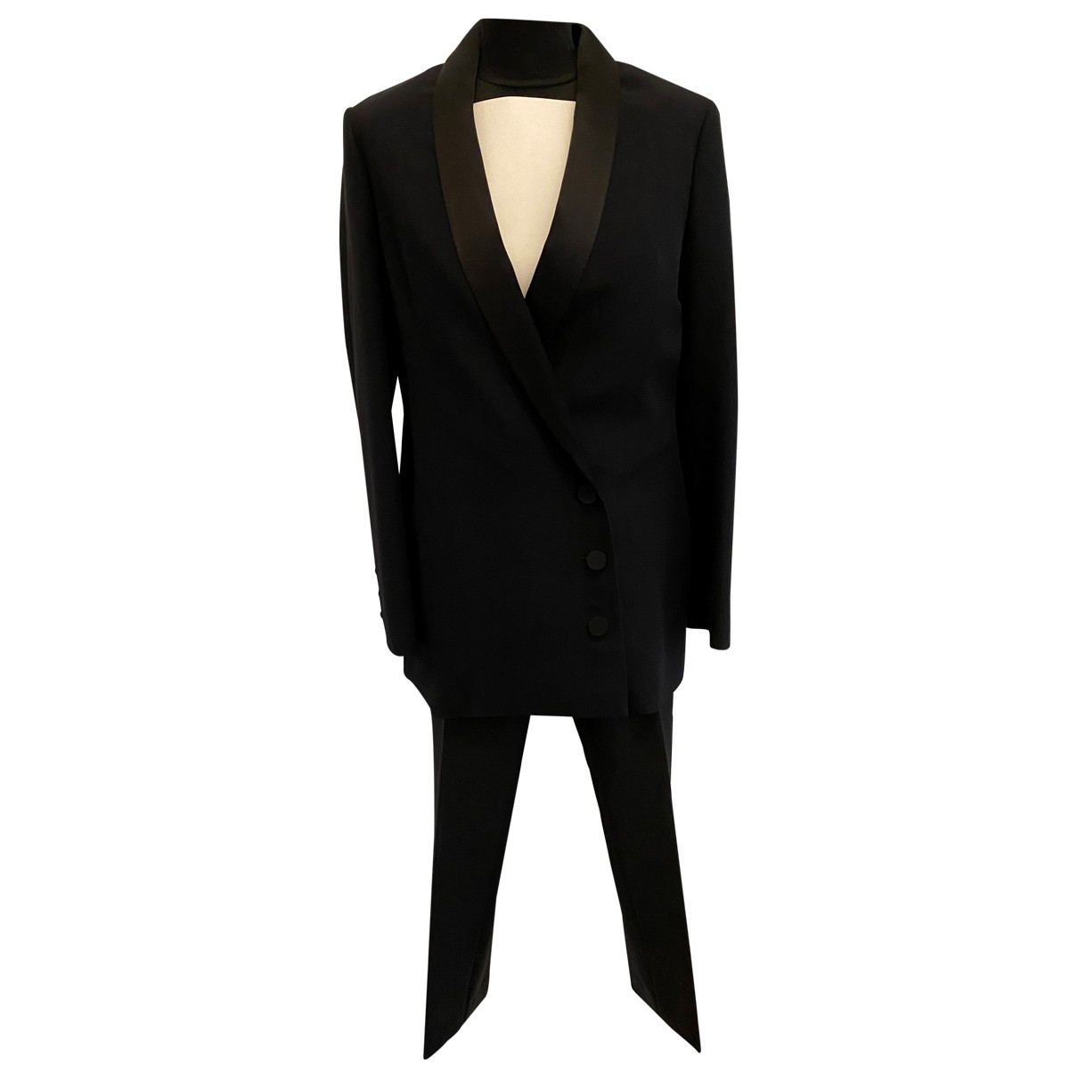 Dior N Black Silk Trousers for Women