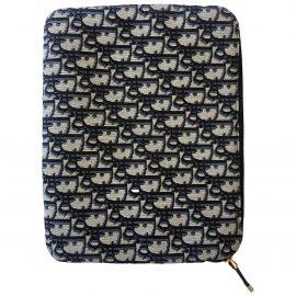 Dior N Blue Cloth Clutch Bag for Women