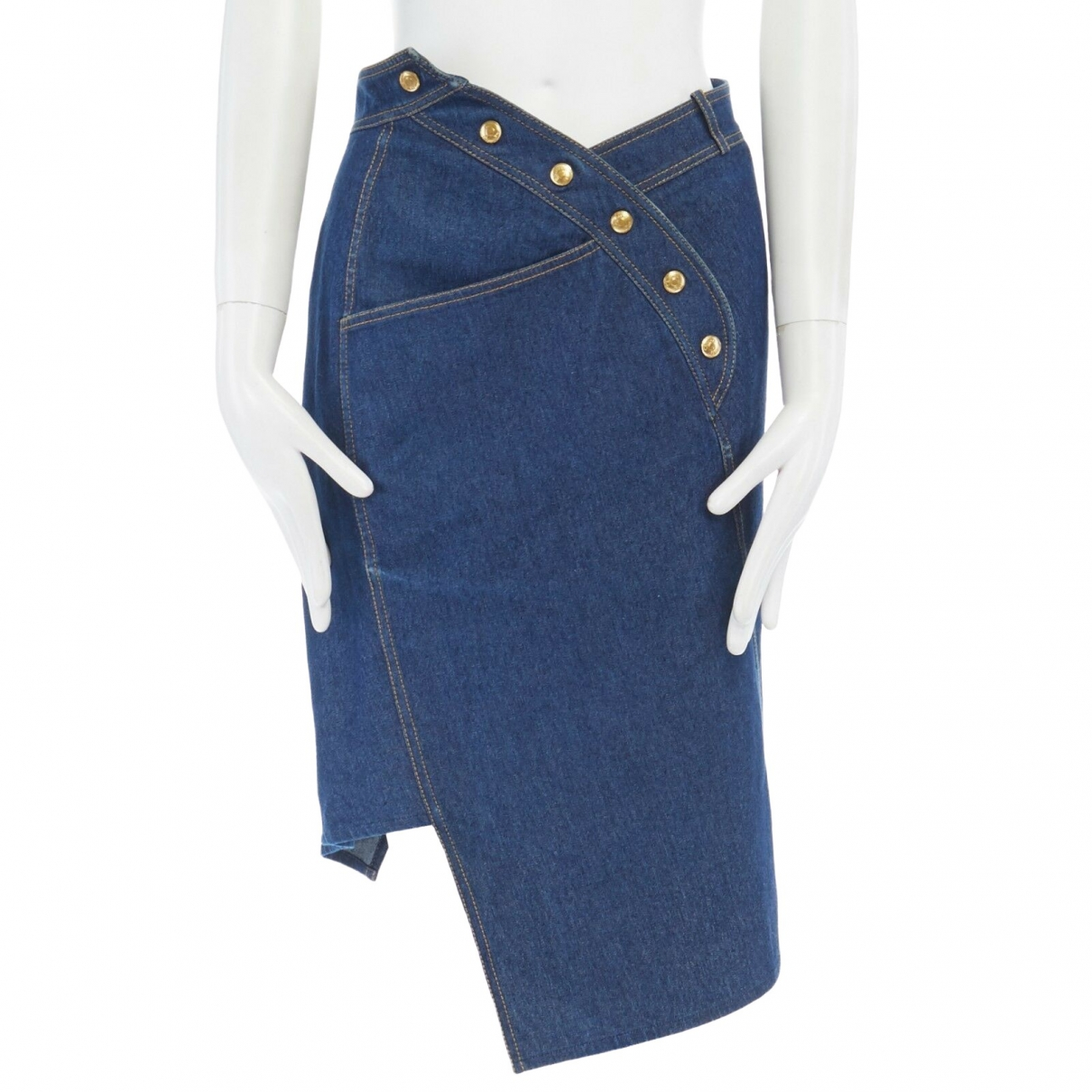 Dior N Blue Denim - Jeans Skirt for Women
