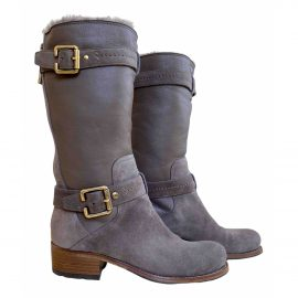 Dior N Brown Leather Ankle boots for Women