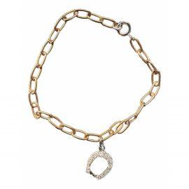 Dodo Pomellato Fer à cheval pink gold bracelet