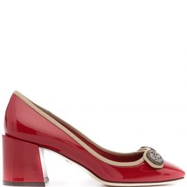 Dolce & Gabbana 65mm pointed-toe pumps - Red
