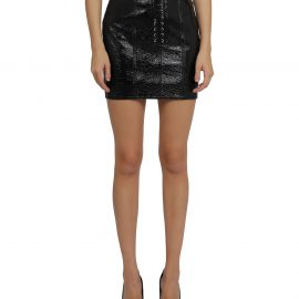 Dolce & Gabbana Black Corset Skirt
