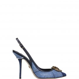 Dolce & Gabbana Dolce & Gabbana Patchwork Slingbacks