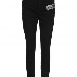 Dolce & Gabbana Dolce & gabbana Crystal Logo Skinny Jeans