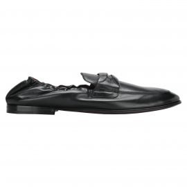 Dolce & Gabbana Dolce & gabbana Logo Plaque Leather Loafers