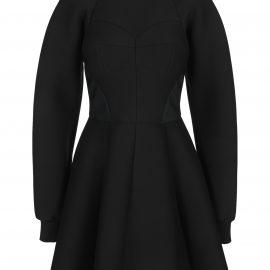 Dolce & Gabbana Dolce & gabbana Technical Jersey Dress With Bustier Details