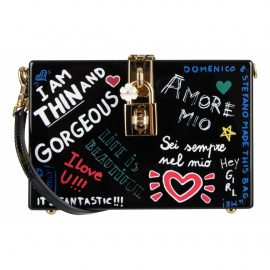 Dolce & Gabbana N Black Leather Clutch Bag for Women