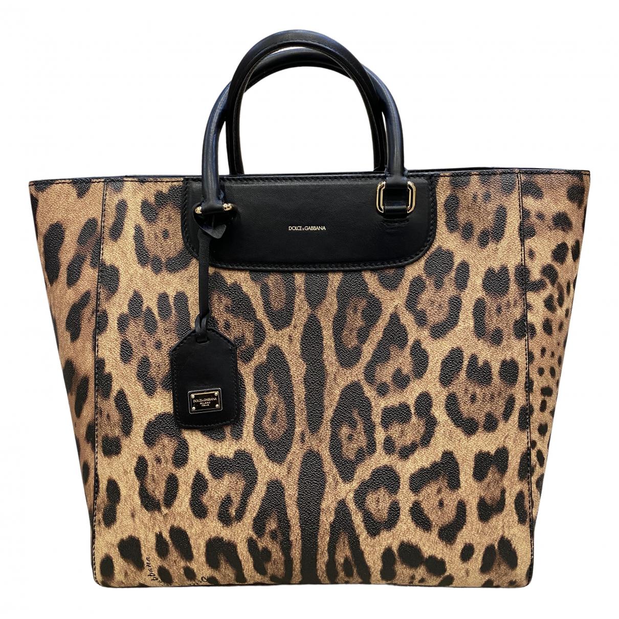Dolce & Gabbana N Brown Cloth Handbag for Women