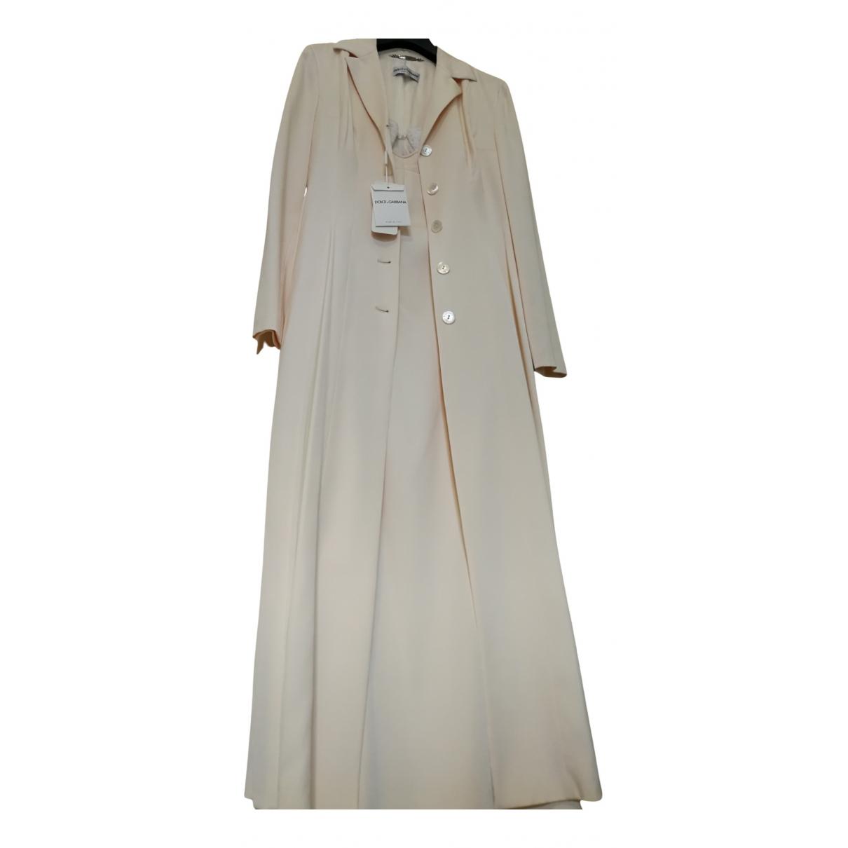 Dolce & Gabbana N Ecru Silk Dress for Women