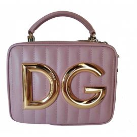 Dolce & Gabbana N Pink Leather Clutch Bag for Women