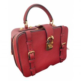 Dolce & Gabbana N Red Leather Clutch Bag for Women