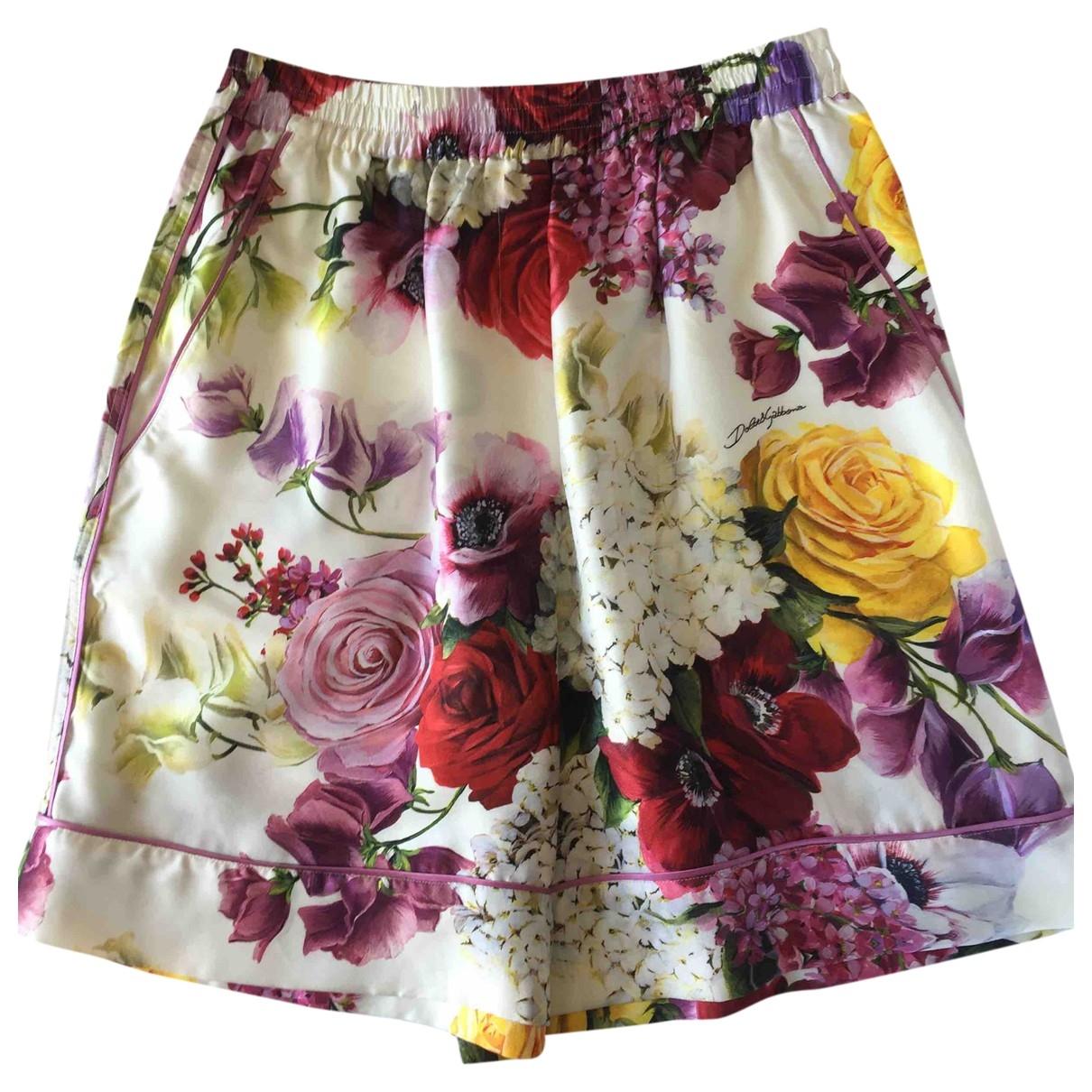 Dolce & Gabbana N Silk Shorts for Women