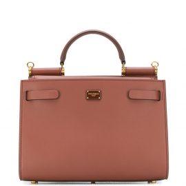 Dolce & Gabbana Small Sicily 62 tote bag - Brown