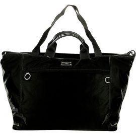 Dolce & Gabbana Weekender Duffel Bag for Men On Sale, Black, Nylon, 2021