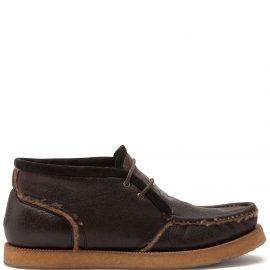 Dolce & Gabbana merino-wool lined Desert boots - Black