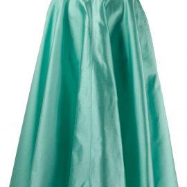 Dolce & Gabbana midi full skirt - Blue