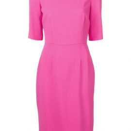 Dolce & Gabbana shortsleeved midi dress - Pink