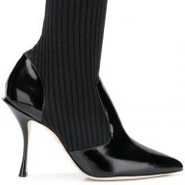 Dolce & Gabbana sock ankle boots - Black