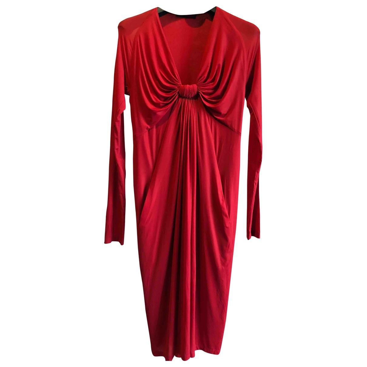 Donna Karan N Red Dress for Women