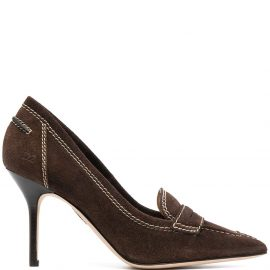 Dsquared2 loafer-style 110mm pumps - Brown