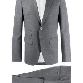 Dsquared2 single-breasted two-piece suit - Grey
