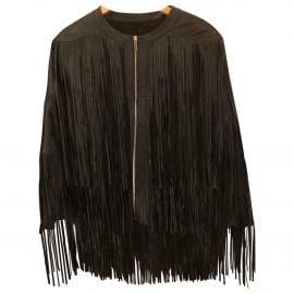 Elie Saab Leather cape