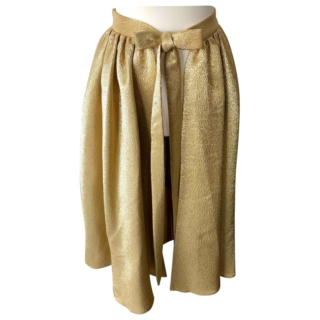 Emilia Wickstead N Gold Skirt for Women