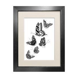 Emily Carter - 'British Butterflies' Fine Art Print A3