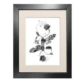 Emily Carter - 'Fuchsiadoptera' - Fine Art Print A5