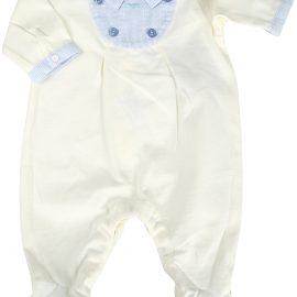 Emporio Armani Baby Bodysuits & Onesies for Boys On Sale, White, Cotton, 2021, 1M 3M 6M