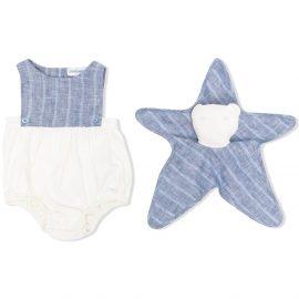 Emporio Armani Kids colour-block bodysuit - Neutrals
