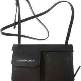 Emporio Armani Wallet for Men On Sale, Black, polyamide, 2021