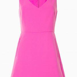 Emporio Armani tailored sleeveless playsuit - Pink