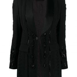 Ermanno Scervino single-breasted tailored jacket - Black