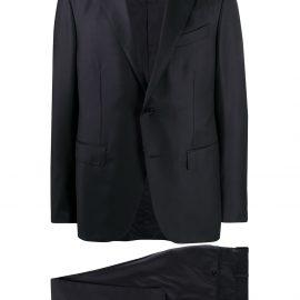 Ermenegildo Zegna single-breasted formal suit - Blue