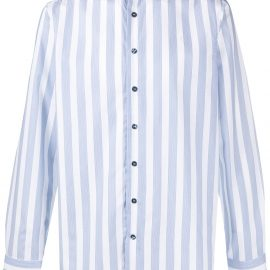 Etro pyjamas stripe shirt - Blue