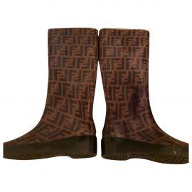 Fendi Colibri wellington boots