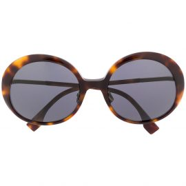Fendi Eyewear FF 0430/S round sunglasses - Brown