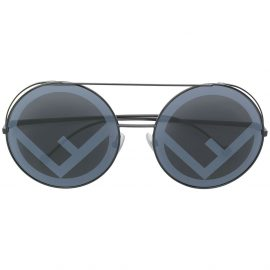 Fendi Eyewear Run Away sunglasses - Black