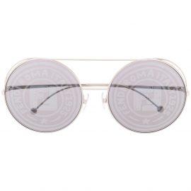 Fendi Eyewear Run Away sunglasses - Silver