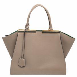 Fendi Leather travel bag