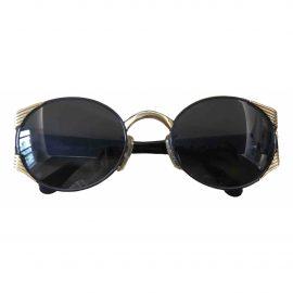 Fendi N Black Metal Sunglasses for Women