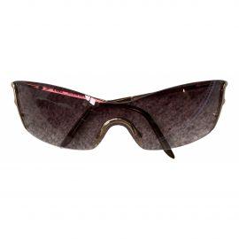 Fendi N Brown Metal Sunglasses for Women