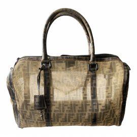 Fendi Runaway Shopping leather bag