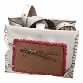 Fendi Runaway Shopping leather crossbody bag