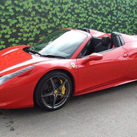 Ferrari 458 Spider Weekend Hire