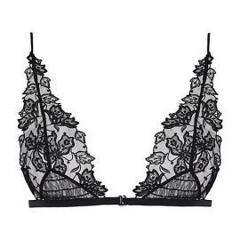 Floral Groove Triangle Bra