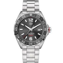 Formula 1 43MM Stainless Steel & Ceramic Automatic Bracelet Watch