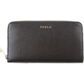 Furla Wallet for Women, Black, Leather, 2021